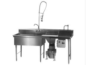 Produce Processing Sink